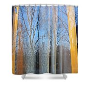 Foliage Fantasy 4 Shower Curtain