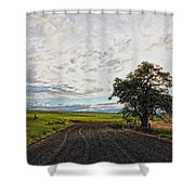 Follow The Clouds Shower Curtain