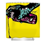 Follow The Drip Full Color Shower Curtain