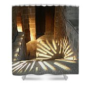Follow The Light-stairs Shower Curtain