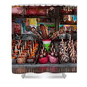 Food - Candy - Chocolate Covered Everything Shower Curtain