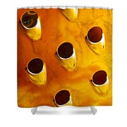 Food Grater Abstract 4 A Shower Curtain