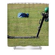 Football Sled Shower Curtain