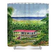 Foothills Of El Yunque Puerto Rico Shower Curtain