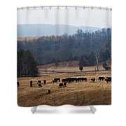 Foothills Of West Virginia Shower Curtain