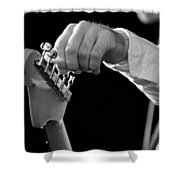 For Better Sound Shower Curtain