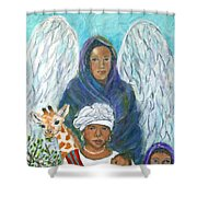 For The Love Of Charlotte Shower Curtain
