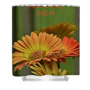 For The One And Only Mom Shower Curtain