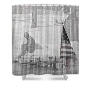 For Those Who Served Shower Curtain