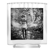 For Thou Art With Me Shower Curtain