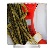 For Your Safety-ii Shower Curtain