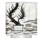 Force Of Life Shower Curtain