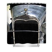 Ford A 1931 Headlights Shower Curtain