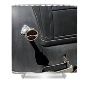 Ford A 1931 Taillight Shower Curtain