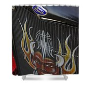 Ford And The Devil Shower Curtain