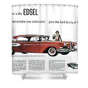 Ford Cars: Edsel, 1957 Shower Curtain
