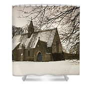 Ford, Northumberland, England Country Shower Curtain
