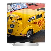 Ford Popular Drag Racer Shower Curtain