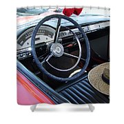 Ford Ranchero Seating Shower Curtain