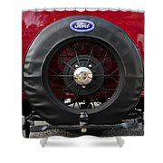 Ford T Bucket Shower Curtain