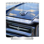 Ford Thunderbird Tail Lights Shower Curtain