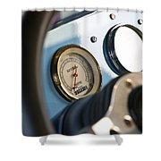 Ford Truck Dashboard Shower Curtain