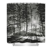 Forelacka Burial Ground Shower Curtain