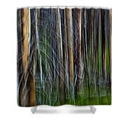 Forest Impression No.119 Shower Curtain