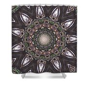 Forest Mandala 1 Shower Curtain