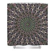 Forest Mandala 2 Shower Curtain