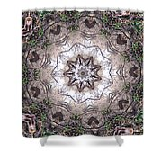 Forest Mandala 4 Shower Curtain