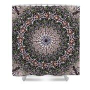 Forest Mandala 5 Shower Curtain