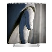 Forgiven Shower Curtain by Maglioli Studios