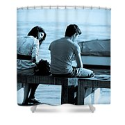 Forgiveness Shower Curtain by Syed Aqueel