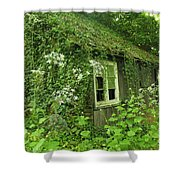 The Forgotten English Cottage Shower Curtain