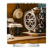 Forgotten Kitchen Of Yesteryear Shower Curtain by Carolyn Marshall