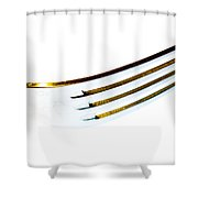 Fork Shower Curtain