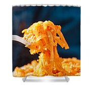 Forkful Of Thai Shower Curtain