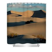 Form And Light At Death Valley Shower Curtain