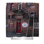 Former Oasis Bordello In Wallace Idaho Mining Town Shower Curtain