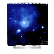 Fornax Galaxy Cluster Shower Curtain by NASA / Science Source