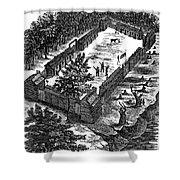 Fort Boonesborough, 1775 Shower Curtain