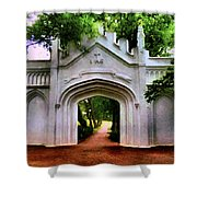 Fort Canning Park Shower Curtain