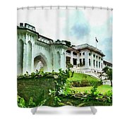Fort Canning Park Visitor Centre Shower Curtain