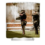 Fort Delaware Military Shower Curtain