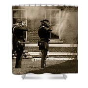 Fort Delaware Soldiers Shower Curtain