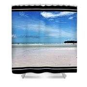 Fort Desoto Beach Shower Curtain