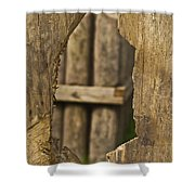Fort In Layers Shower Curtain
