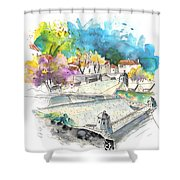 Fort In Valenca In Portugal 01 Shower Curtain