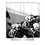 Fort Larned Pulls Ahead Shower Curtain